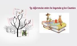 Copy of LA DIFERENCIA ENTRE UN    CUENTO Y LA LEYENDA