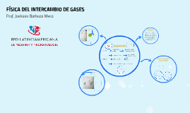 FÍSICA DEL INTERCAMBIO DE GASES