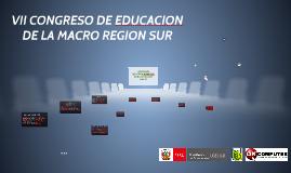 VII CONGRESO DE EDUCACION