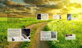 """""""Dignidad del Paciente Terminal"""""""
