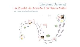 Copy of La Prueba de Acceso a la Universidad