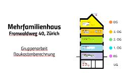 Mehrfamilienhaus Zürich
