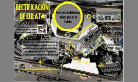 PROCESO DE RECTIFICACION DE CULATA