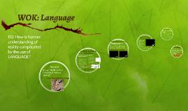 WOK: Language