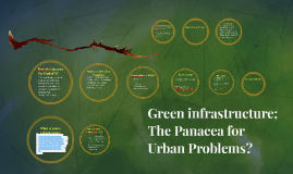 Copy of Green infrastructure; the Panacea for Climate Change