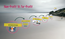 Non-Profit Vs For-Profit