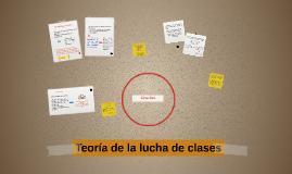 Teoría de la lucha de clases