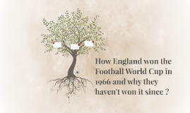 How England won the Football World Cup in 1966 and why they