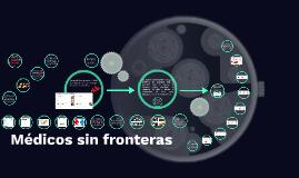 Copy of médicos sin fronteras