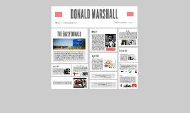 DONALD MARSHALL