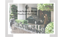 Four Seasons Hotel London at Park Lane - Groups