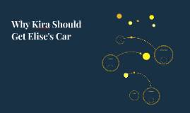Why Kira Should Get Elise's Car