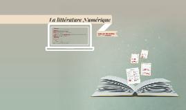 La littérature Numérique
