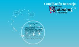 Conciliación Bancaria; Industrias DICALBAME