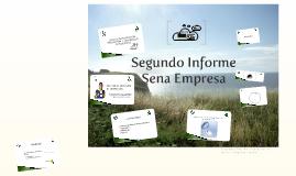 Segundo Informe - Sena Empresa Tercer Trimestre