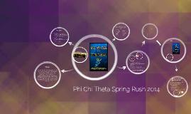 Spring Rush 2014