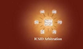 ICSID Arbitration