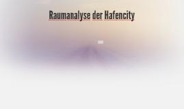 Raumanalyse der Hafencity