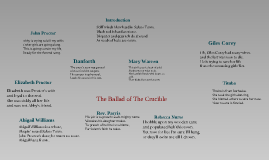 Copy of Ballad of the Crucible, Spring 2011