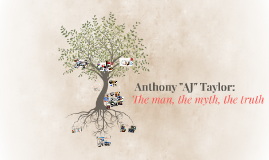 "Anthony ""AJ"" Taylor:"