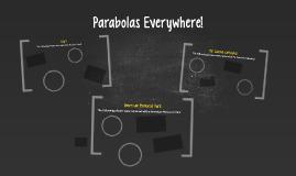 Parabolas Everywhere!