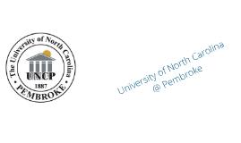 University of North Carolina @ Pembroke