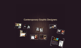Copy of Contemporary Graphic Designers