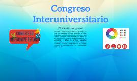 Congreso Interuniversitario