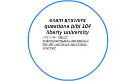 bibl 104 week 6 study guide