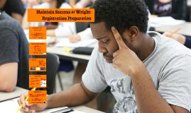 HP Prepare for Registration -- ARC Classes, Fall 2016