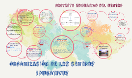 organizacion de los centros educativos