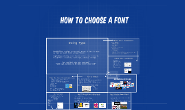 Copy of How to choose a font