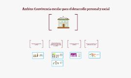 Copy of Ámbito: Convivencia escolar para el desarrollo personal y social