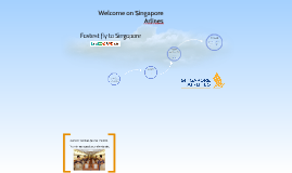 Welcome on Singapor Arlines