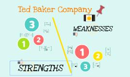 TED BAKER COMPANY