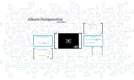 Alkane Halogenation