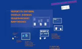 MODELOS HORARIOS/PROGRAMACIONES (modificación elementos