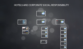 HOTELS AND CORPORATE SOCIAL RESPONSIBILITY