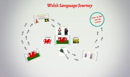 Welsh Language Journey