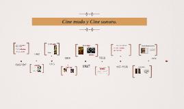 Cine mudo y cine sonoro