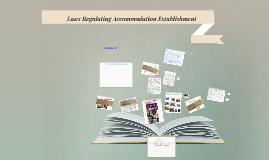 Copy of Copy of Laws Regulating Accommodation Establishment