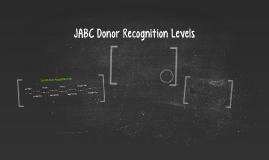 JABC Donor Recognition Levels