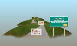 ERC TARRAGONA Programa d'actuació