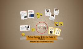 Naked Dancing On Social Media in Thailand