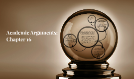 Academic Arguments: Chapter 16