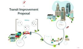 Transit Improvement Proposal