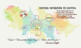 Copy of FACTOR: INVERSIÓN DE CAPITAL