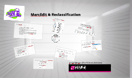 Copy of Using MarcEdit (Reclassification Project)