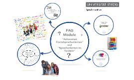 FAQ - Autonome Module - Universität Leipzig
