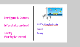 English Class 2013-2014